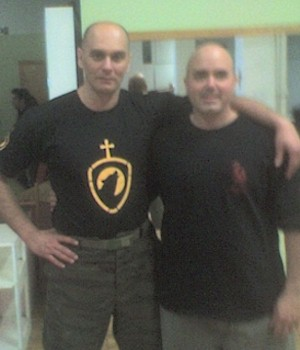 Systema Instructor Alex Kostic with Systema Practitioner Chuck Cabrera