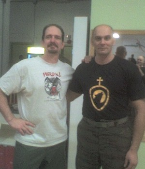 System of Combat Instructor Jim Dann with Systema Instructor Alex Kostic